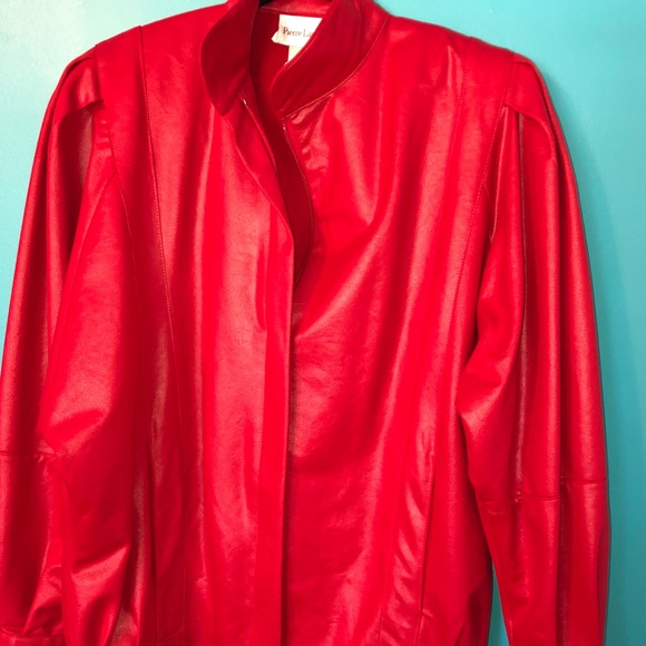 Vintage Jackets & Blazers - Vintage retro 80's Halloween red jacket costume S